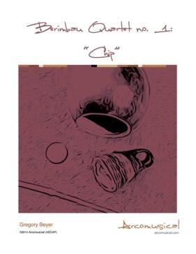 1. Berimbau Quartet no 1 COVER NEW