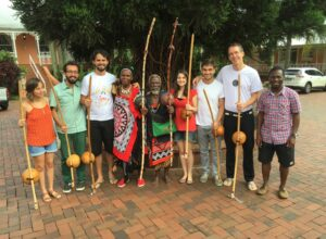 Projeto Arcomusical BH and the Swazi musicians!