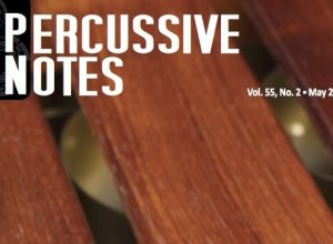 Percussive Notes May 2017 COVER